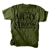The Lord's Army Shirt, Green, Extra Large