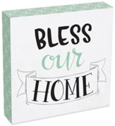 Bless Our Home Wall Plaque