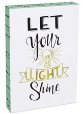 Let Your Light Shine Wall Plaque