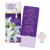 Christ Is Risen, Plantable Seed Cross and Bookmark