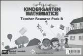 Earlybird Kindergarten Mathematics (Standards Edition) Teacher Resource Pack B