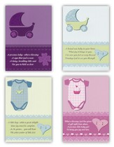 Little Ones Baby Congratulations Cards, Box of 12