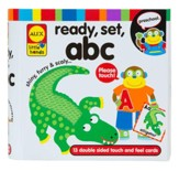 ABC, Ready, Set, Touch & Feel Cards