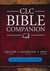 CLC Bible Companion DVD (The Electronic Version: 2 PDF Files)
