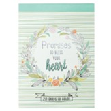 Promises to Bless Your Heart Cards  to Color, 20 Cards