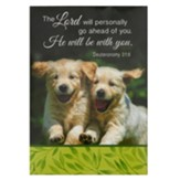 The Lord Will Personally Go Ahead of You, He Will Be With You Notepad