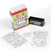 Bible Memory Verses Every Kid Should  Know Coloring Cards, Box of 52
