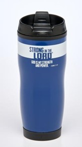 God Is My Strength and Power Travel Mug