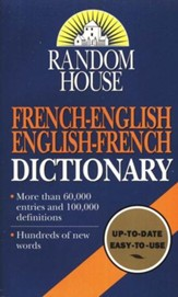 Random House French-English/English-French Dictionary