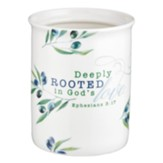 Deeply Rooted in God's Love Utensil Holder