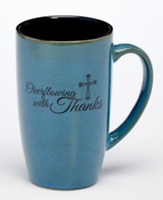 Overflowing with Thanks Mug