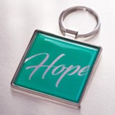 Hope Keyring, Teal