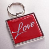 Love Keyring, Red