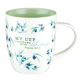 My Cup Overflows with Blessings Mug