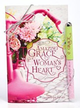 Amazing Grace For A Woman's Heart Pen and Gift Book Set, ESV