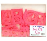 Felt Alphabet (Preschool-K5; 52 pieces)