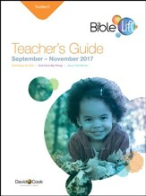 Bible-in-Life/Echoes Toddler Teacher's Guide, Fall 2017