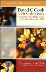 Bible-in-Life Adult Comprehensive Bible Study Student Book, Fall 2017