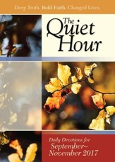 Bible-in-Life/Echoes The Quiet Hour (Devotional Guide), Fall 2017