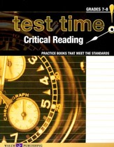 Test Time! Critical Reading