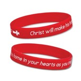Salvation Story Silicone Bracelet