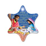 Starry, Starry Night Nativity Magnet