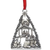 O Holy Night Pewter Ornament
