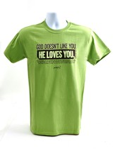 Like You Shirt, Green, Large