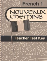 Abeka Nouveaux Chemins French Year 1 Teacher Test Key