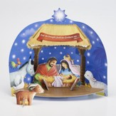 Starry, Starry Night Build-Your-Own Stand-Up Nativity Kit