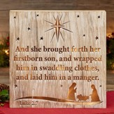 Nativity LED Tabletop Plaque