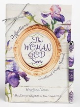 The Woman God Sees, Prayer Journal and Pen Gift Set, KJV