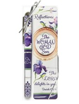 The Woman God Sees, Pen and Bookmark Gift Set, KJV