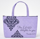 The Lord Delights In You Tote Bag