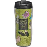 Stepping Out In Faith Travel Mug