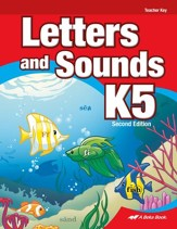 Abeka Letters and Sounds K5 Teacher Key