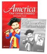 Abeka America: Our Great Country Social Studies Visuals  (Grade K5)