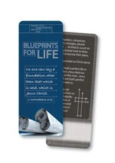 Blueprints For Life, Jumbo Bookmark