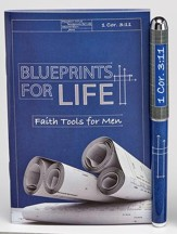 Blueprints For Life, Pen & Pocket-Size Devotion Book Gift Set