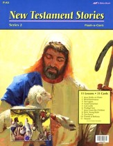 Abeka Preschool New Testament  Stories Series 2 Flash-a-Card  Set