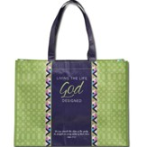 Stepping Out In Faith, Tote Bag