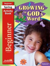 Growing in God's Word Beginner (ages 4 & 5) Activity Book
