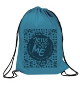 Always with Me Drawstring Backpack