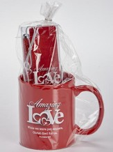 God's Amazing Love Mug, Pen, Bookmark Gift Set