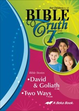 Abeka Bible Truth DVD #7: David &  Goliath, Two Ways