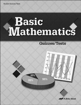 Abeka Basic Mathematics Quizzes/Tests