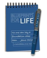 Blueprints For Life, Waterproof Notepad and Pen Set