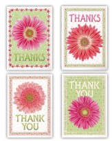 Daisies Thank You Cards, Box of 12