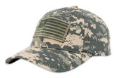 Military Flag Cap, Digital Camo