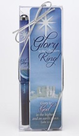 Glory To the Newborn King, Pen and Bookmark Set